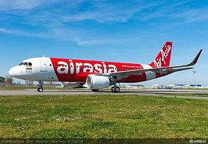 AirAsia India takes delivery of its 1st A320