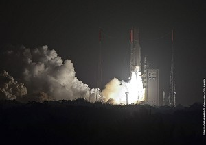 Ariane 5 orbits satellites at the service of SES and HISPASAT