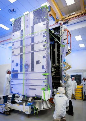 Boeing on Schedule to Deliver World's 1st All-Electric Satellites