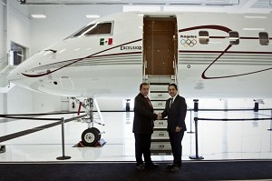 Bombardier Delivers 1st Global 6000 Aircraft to Mexico-Based Operator