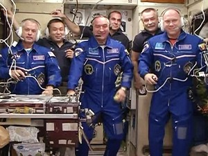 New Soyuz Trio Completes Two Day Trip to Station