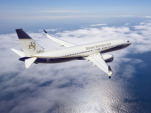 Boeing Launches BBJ MAX Family with 1st Order