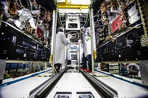 NGC Ships Payload Module 2 Months Early for 4th AEHF Protected Communications Satellite