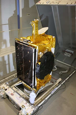 MEASAT-3b shipped to launch base