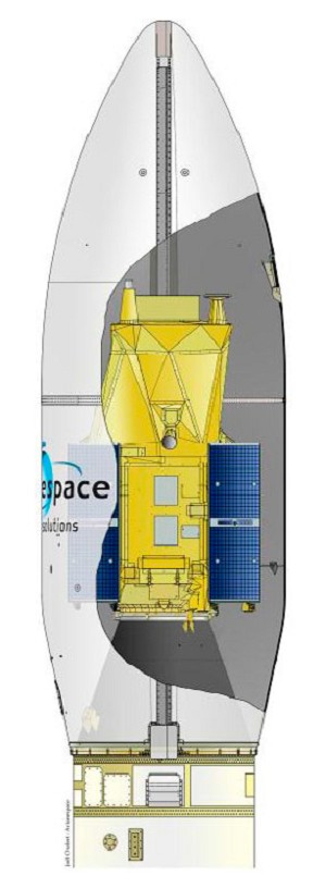 Vega is readied for its 2rd Arianespace mission, carrying a pioneering Earth observation spacecraft