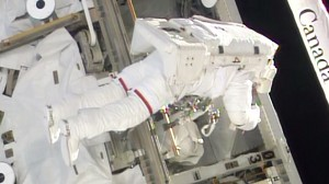 Astronauts Complete Short Spacewalk to Replace Backup Computer