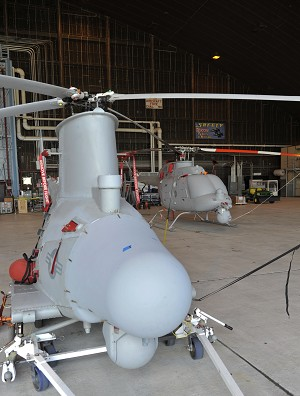 NGC's MQ-8C Fire Scout to Undergo Electromagnetic Interference Tests In Prep for Ship-based Flights