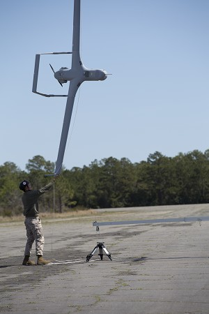 Marines deploy with 1st, unmanned RQ-21A Blackjack system