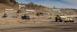 Oshkosh Equips M-ATV for Unmanned Route-Clearance Missions