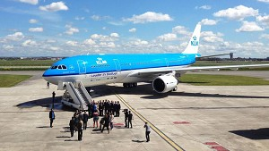 Airbus performs its longest flight using sustainable jet fuel with KLM