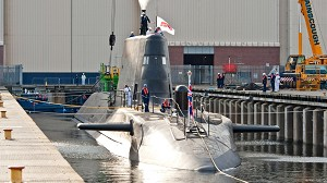 Third Astute Class Submarine Launched