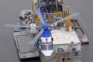 Airbus Helicopters' EC175 makes its North Sea debut and announces extra payload