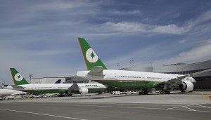 Boeing Celebrates Double 777-300ER Delivery to EVA Air