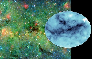 Pitch Black: Cosmic Clumps Cast the Darkest Shadows