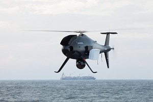 Schiebel Demos Camcopter S-100 Maritime Capabilities for Brazilian Navy