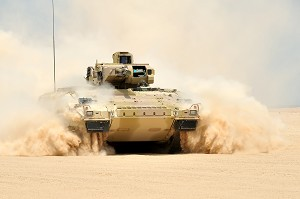 Puma armoured infantry fighting vehicle makes Paris debut following successful desert trials