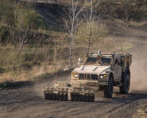 Oshkosh Demos Autonomous Route Clearance Mission Capability at Eurosatory