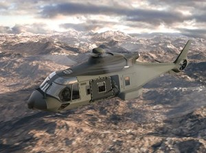 TenCate Advanced Armour shows next generation helicopter armour
