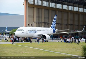 Airbus first A320neo reaches completion