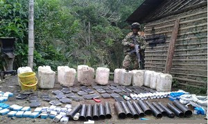 US Military Helps Colombia Fight IED Threat