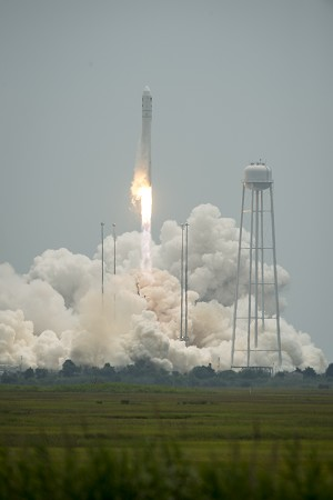 NASA Cargo Launches to ISS aboard Orbital Sciences Resupply Mission