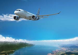 UK-based Lessor Falko Regional Aircraft Signs LOI for up to 24 Bombardier CS100 Aircraft
