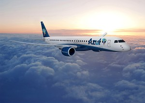 Brazil's Azul Signs LOI for up to 50 E195-E2 jets
