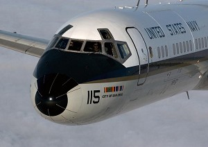 Navy says farewell to the C-9 Skytrain II aircraft