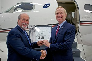 Embraer Executive Jets Delivers 25th Phenom 300 to NetJets
