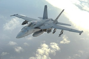 Exelis Delivers Latest EW Technology for US Navy F/A-18 Aircraft
