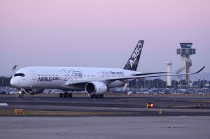 The A350 XWB makes its debut in Australia