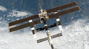 Space Cargo Ship Set for Docking With ISS