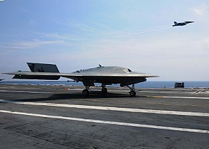 USS TR Conducts Combined Manned, Unmanned Operations