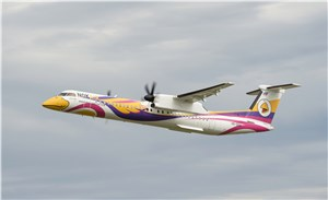 Bombardier and Nok Air Showcase the Carrier's 86-seat Extra Capacity Q400 NextGen Aircraft