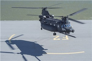 Boeing Delivers 1st New-Build MH-47G Special Operations Chinook