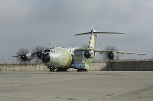 1st Airbus A400M for Germany Runs its Engines