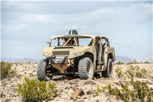 Polaris Defense Debuts Newly Contracted Ultra-Light Vehicle