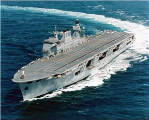 HMS Ocean Receives Combat System Upgrade