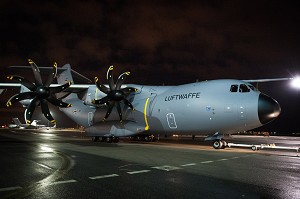 1st Airbus A400M for Germany leaves the paintshop