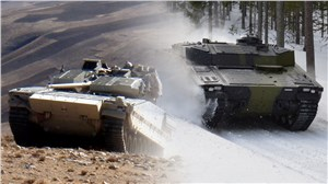 Danish LED Searchlights selected for the CV90 to Norway