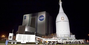 LM Keeps Fingers Crossed for Orion's First Test Flight