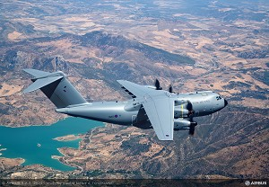 Airbus Defence and Space Delivers 1st A400M to RAF
