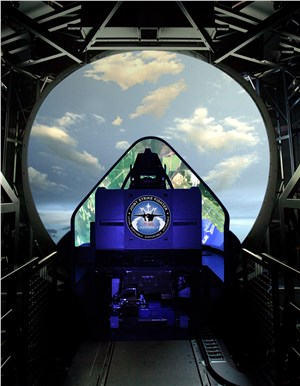 F-35 Training System Team Honored With Top Modeling and Simulation Award