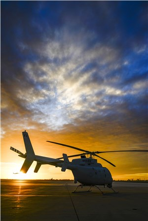 NGC Delivers 1st Operational MQ-8C Fire Scout to the US Navy