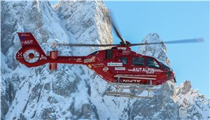 Airbus Helicopters' 1st Enhanced EC135 T3-P3 Enters Service With Aiut Alpin Dolomites in High-Altitude Rescue Operations