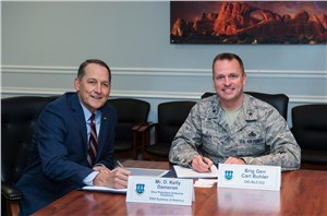 Elbit and Ogden Air Logistic Complex Sign Partnership Agreement to Better Support the Warfighter