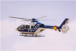 Airbus Helicopters delivers an EC135 to the Spanish National Police Force