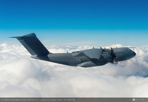 Germany Takes Delivery of its 1st Airbus A400M