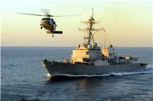 USS Sampson to Assist in Air Asia Search