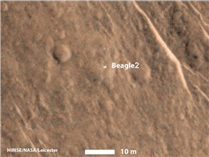 Beagle-2 Lander Found on Mars